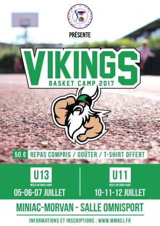 VIKING BASKET CAMP 17