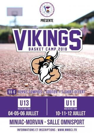 VIKING BASKET CAMP 18