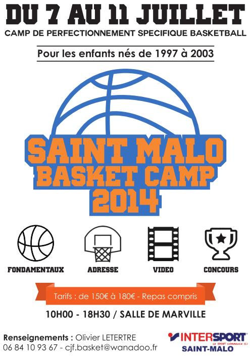 Saint Malo Basket Camp 2014